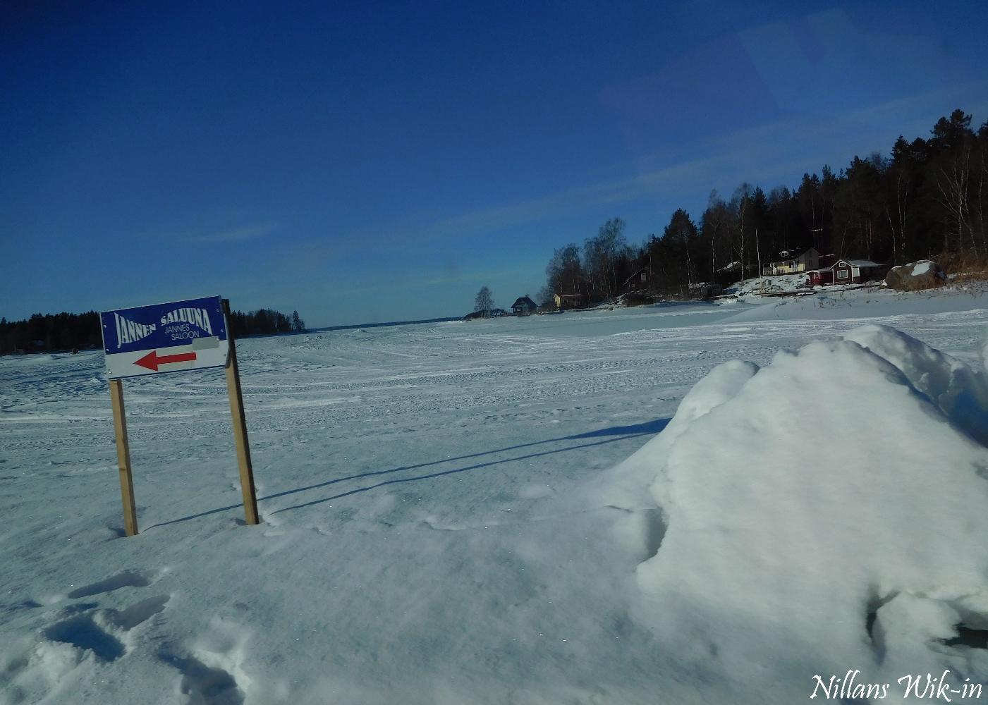 Isen riktigt bra